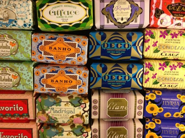 The shop in Lisbon to buy authentic Portuguese products with packaging to match. Cosmetics, books, rugs + more. See more here - http://www.avidaportuguesa.com/