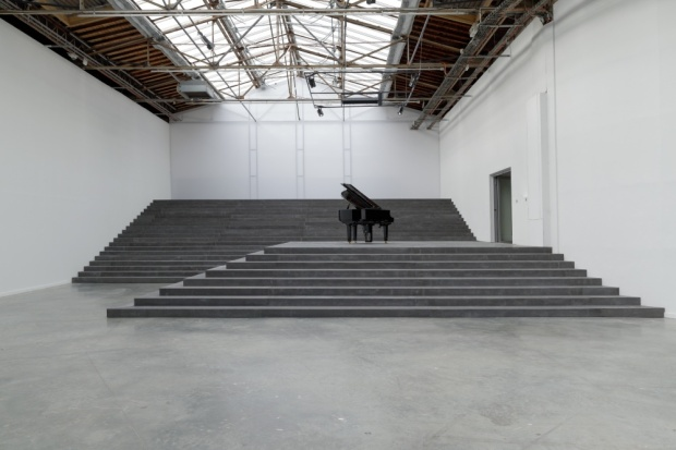 The first artist to take on the challenge of the newly renovated Palais de Tokyo. A challenge taken on with an offbeat and eclectic mix of installations to match the space. A larger scale exploration of space, sound and film than that of his friend Pierre Huyghe, currently showing at the Centre Pompidou. Take a day to see both if in Paris before 06.01.14. See more here - http://palaisdetokyo.com/en/exhibition/philippe-parreno