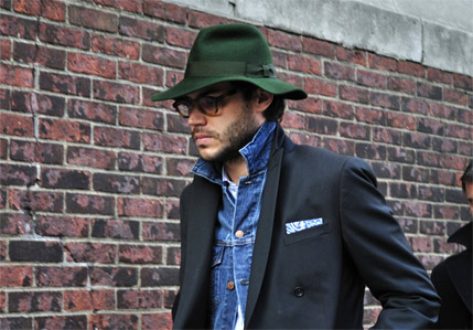 This guy always looks incredible. He consistently nails being dressed-up and dressed-down with a variety of cuts, colours and textures always well combined. Another point is that he never looks as though he's making any effort, unlike a lot of well known mens style icons of today. Handsomeness and hats are 2 things he also has in abundance and only sometimes will you see him smile but that's a real treat too.