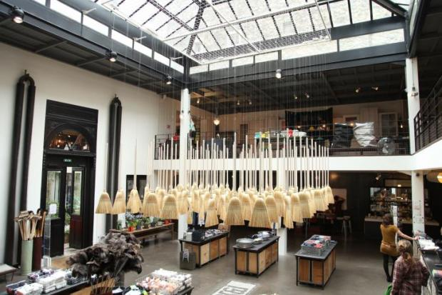 "Merci is the premier concept store of Paris. Since 2009 the former 19th century fabric factory has been providing all sorts of home wares and spaces to relax. Some of it's best products are in the basement where you'll find inexpensive fixtures and fittings. As MVDR said - ""God is in the details"". See more here - www.merci-merci.com"