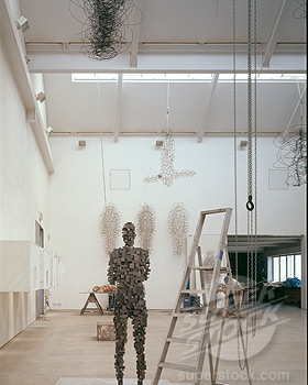 ANTONY GORMLEY STUDIO, LONDON, N1 ISLINGTON, UNITED KINGDOM, DAVID CHIPPERFIELD