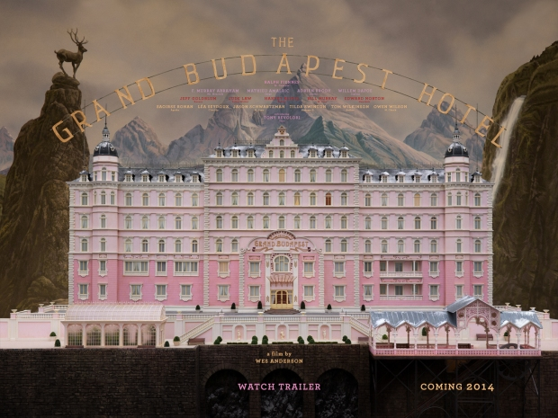 The Grand Budapest Hotel follows the adventures of Gustave H, a legendary concierge at a famous European hotel between the wars, and Zero Moustafa, the lobby boy who becomes his most trusted friend. See trailer here - http://www.imdb.com/title/tt2278388/