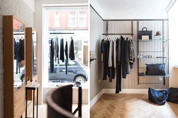 Launched by Rainbowwave's founder Maria Lemos, Mouki is a 750 square foot concept store that's devoted to unique and exclusive finds from across the globe. The store houses a hand-picked selection of ready-to-wear, beauty and lifestyle products, accessories and jewellery – pieces that have unrivalled quality and a particular resonance. Designed by William Russell of Pentagram, the interior aesthetic is quiet and minimal, to reflect the pure and non-ephemeral nature of the collections. See more here - http://mouki-london.com/